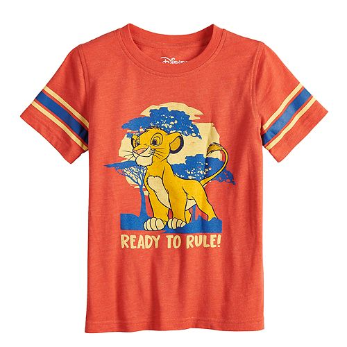 Boys 4-12 Sonoma Goods for Life™ Retro Lion King Ready To Rule Tee
