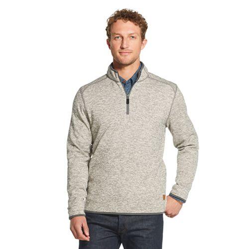 Men's G.H. Bass Fleece Quarter-Zip Pullover