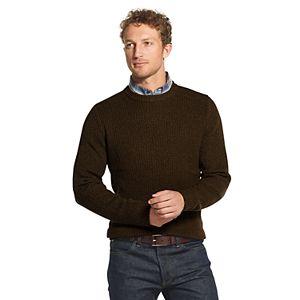 Men's G.H. Bass Ribbed Crewneck Sweater