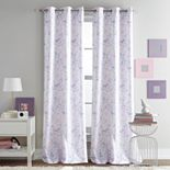 Dream Factory 2-pack Butterfly Window Curtain Set