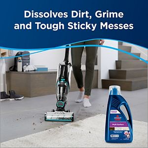BISSELL Multi-Surface Floor Cleaning Formula for CrossWave & SpinWave Series - 80 oz.