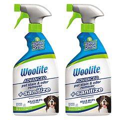 BISSELL Woolite Pet Stain & Odor Remover + Sanitize - 22-oz. (2-Pack)