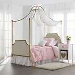 Little Seeds Monarch Hill Clementine Twin Canopy Bed