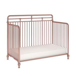 Little Seeds Monarch Hill Hawken 3 in 1 Convertible Metal Crib