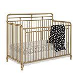 Little Seeds Monarch Hill Hawken 3 in 1 Convertible Metal Crib