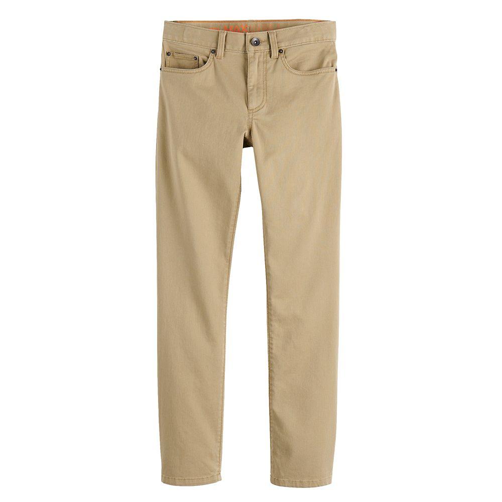 Boys 4-20 Urban Pipeline™ Slim-Fit Twill Pants in Regular & Husky