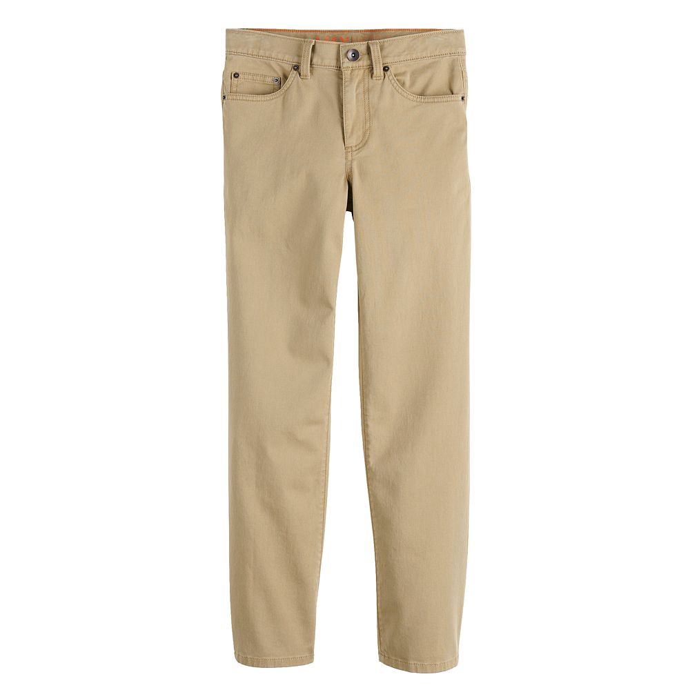 Boys 4-20 Urban Pipeline™ Straight-Leg Twill Pants In Regular, Slim & Husky Sizes