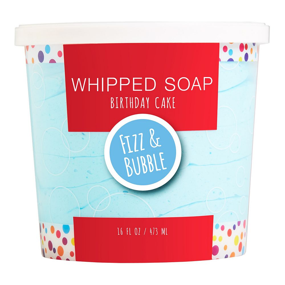 Fizz & Bubble Birthday Cake Whipped Soap