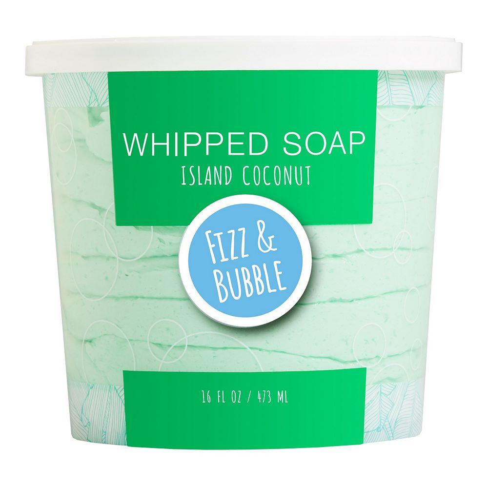 Fizz & Bubble Island Coconut Whipped Soap
