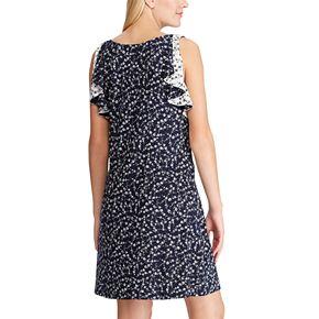 Women's Chaps Sleeveless Floral Dress