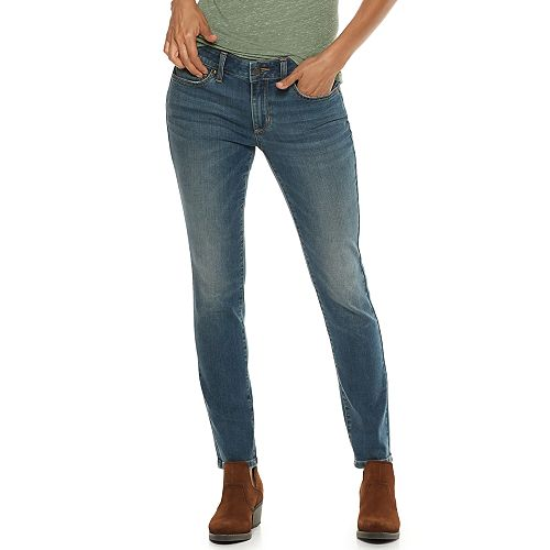 Petite SONOMA Goods for Life® Curvy Mid-Rise Skinny Jeans