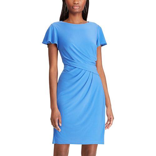 Petite Chaps Sheath Dress