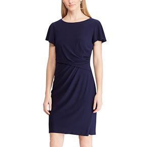 Petite Chaps Sheath Dress