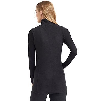 Women's Cuddl Duds Fleecewear with Stretch Full Zip Vest
