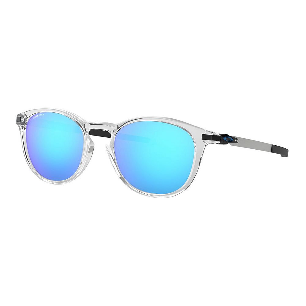 Oakley Pitchman OO9439 50mm Round Mirrored Sunglasses