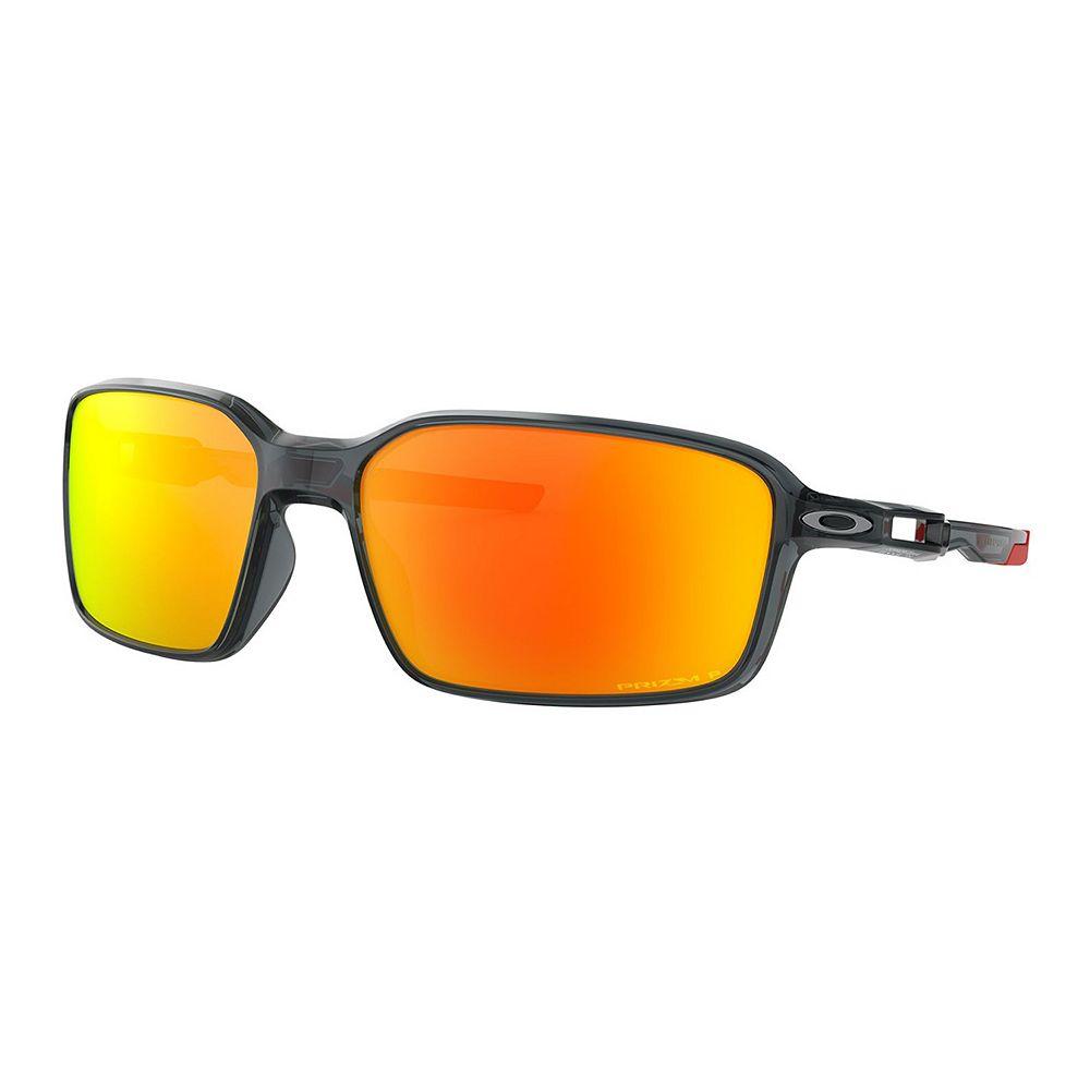 Men's Oakley Siphon OO9429 64mm Rectangle Mirrored Polarized Sunglasses