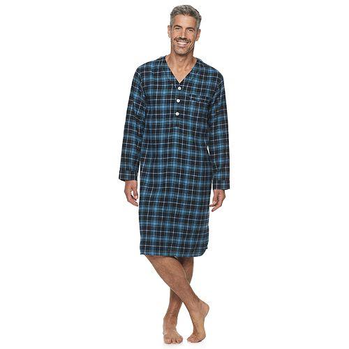 Men's Croft & Barrow® Long-Sleeve Flannel Sleepshirt