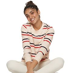 Women's POPSUGAR Striped Sweatshirt
