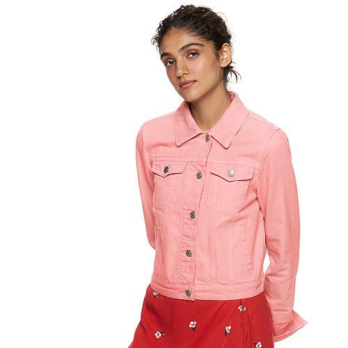 Women's POPSUGAR Cropped Jean Jacket