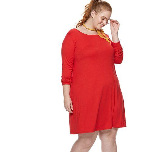 Plus Size POPSUGAR A-Line Dress