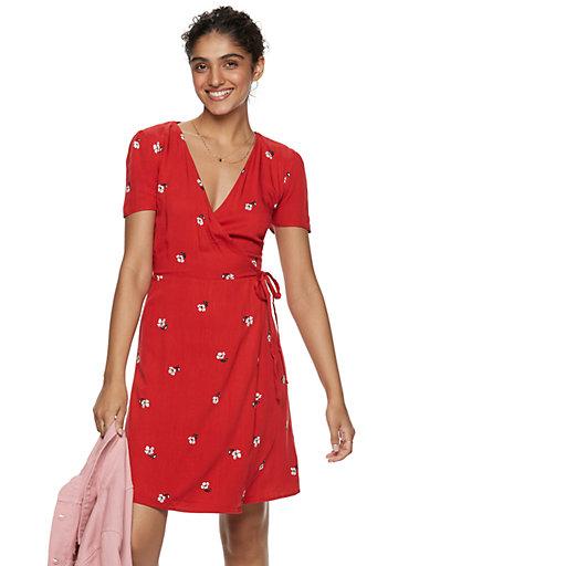 ba89d6229d5f Women's POPSUGAR Printed Wrap Dress