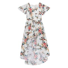 96e6544f3 Girls 7-16 Speechless High-Low Floral Maxi Dress