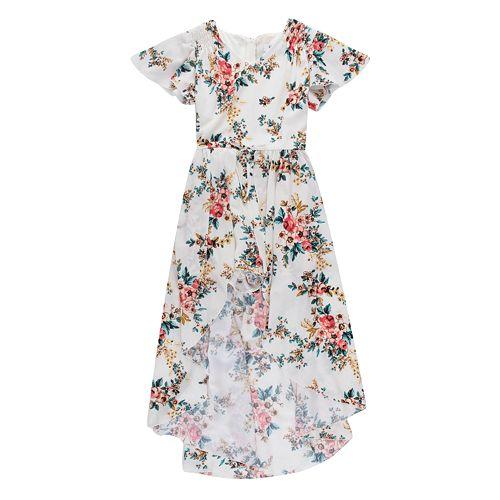 Girls 7-16 Speechless High-Low Floral Maxi Dress