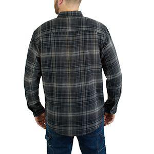 Men's Wolverine Escape Long Sleeve Flannel Shirt