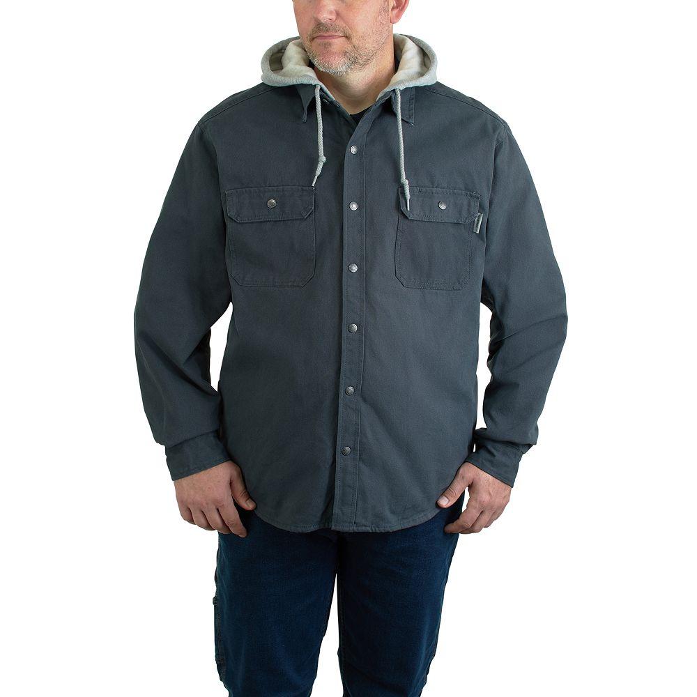 Men's Wolverine Overman Hooded Shirt Jacket