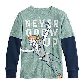 Boys 4-12 Disney's Peter Pan Never Grow Up Tee by Jumping Beans®