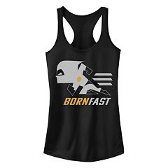15ea8e2c62d56 Juniors' Disney/Pixar's The Incredibles 2 Dash Born Fast Racerback Tank