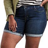Plus Size Levi's® Jean Shorts