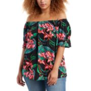Plus Size Levi's® Kimberly Off-the-Shoulder Top