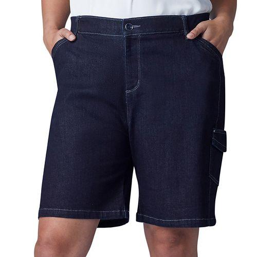 Plus Size Lee Flex to Go Cargo Bermuda Shorts