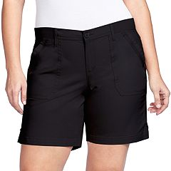 Plus Size Gloria Vanderbilt Ribbed Utility Short