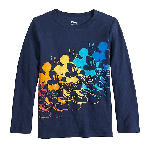 Disney's Mickey Mouse Boys 4-12 Colorful Mickey Tee by Jumping Beans®