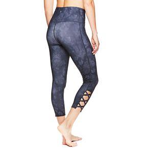 Women's Gaiam Om High-Waisted Capri Leggings