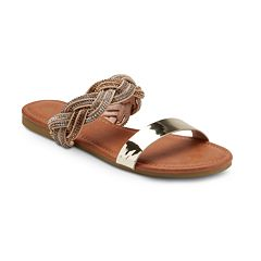 Olivia Miller 'Twisted' Women's Sandals