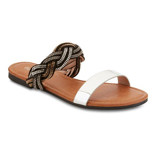Olivia Miller 'Twisted' Women's Sandals