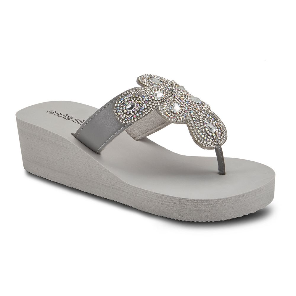 Olivia Miller Obsessed Women's Wedge Sandals