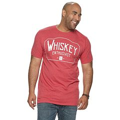 0705df15 Big & Tall SONOMA Goods for Life™ 'Whiskey Enthusiast' Graphic Tee