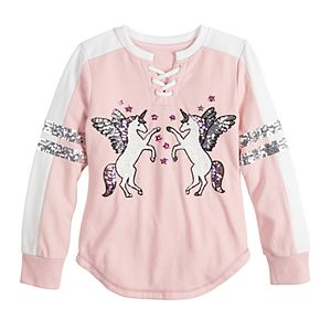 Girls 7-16 Miss Chievous Lace Up Pullover