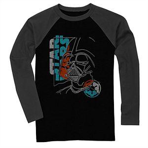 Boys' Star Wars Darth Vader Long Sleeve Graphic Tee