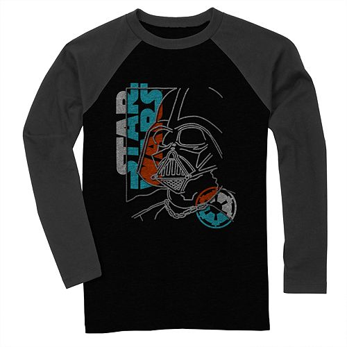 Boys' Star Wars Darth Vader Long Sleeve Graphic Tee