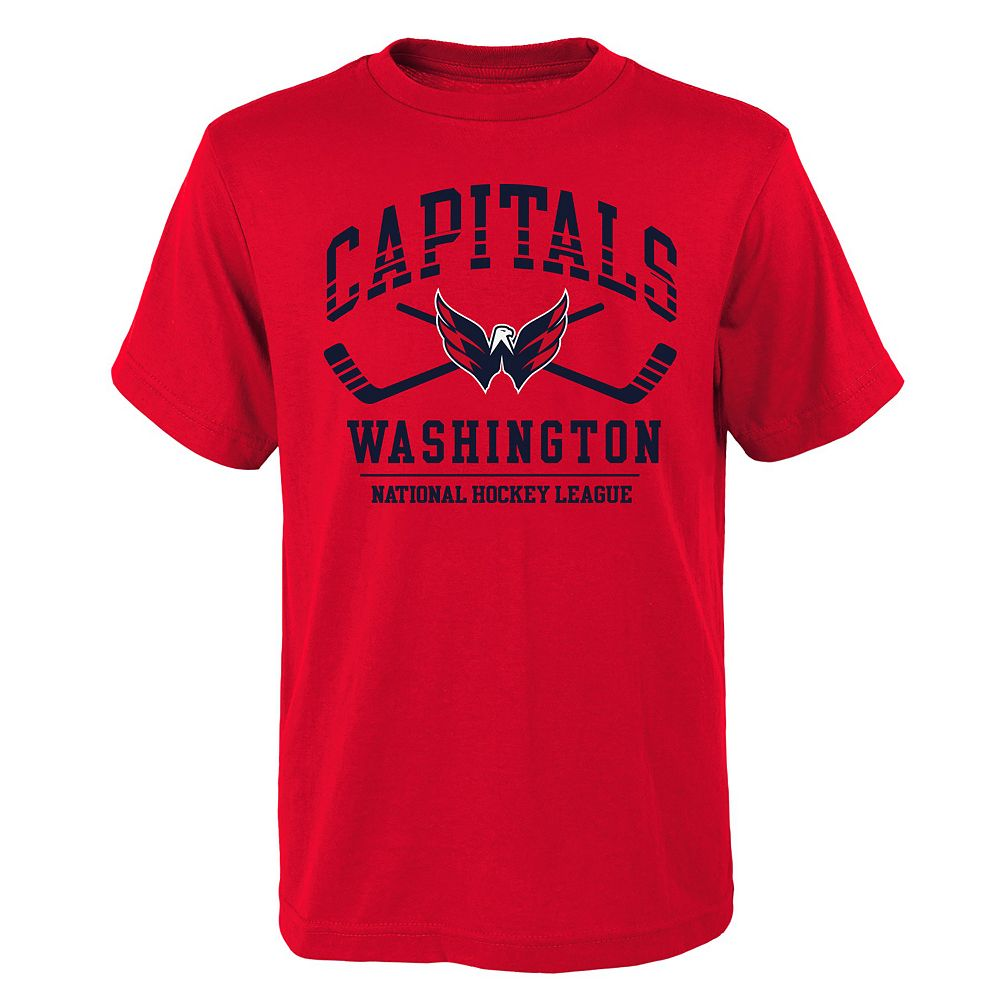 Boys 4-18 Washington Capitals NHL Fundamentals Tee