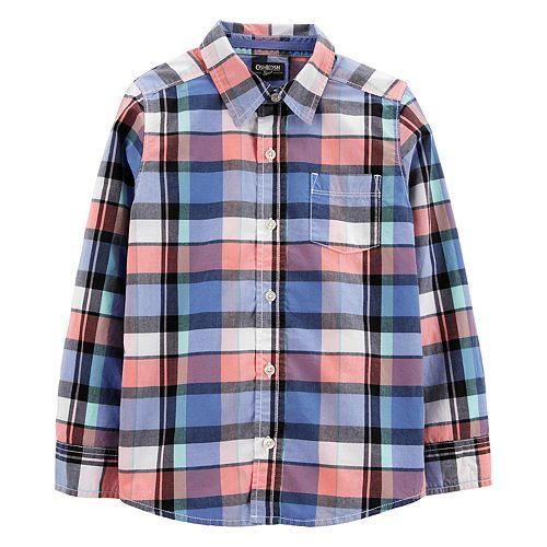 Boys 4-14 OshKosh B'gosh® Plaid Shirt