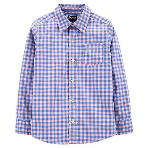 Boys 4-12 OshKosh B'gosh® Checkered Shirt