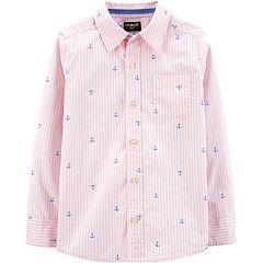 Boys 4-12 OshKosh B'gosh® Anchor Striped Shirt
