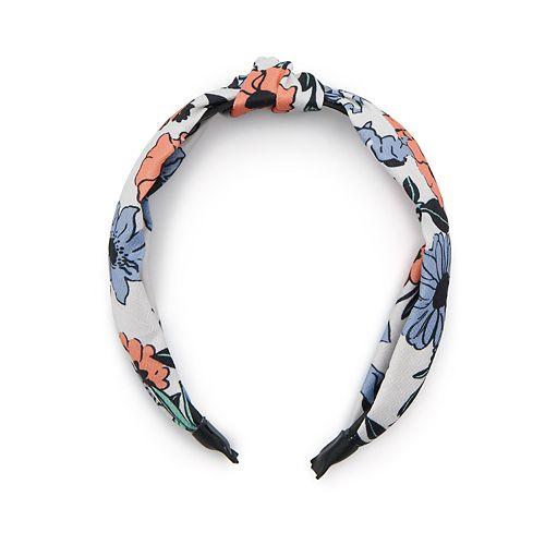 Women's SO® Floral Knot Headband