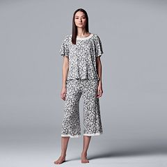 98e3254054a81 Simply Vera Vera Wang Pajamas, Sleepwear and Robes | Kohl's